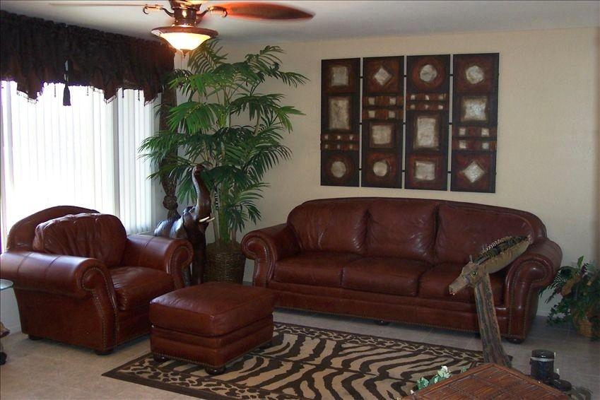 Awesome Safari Theme Living Room