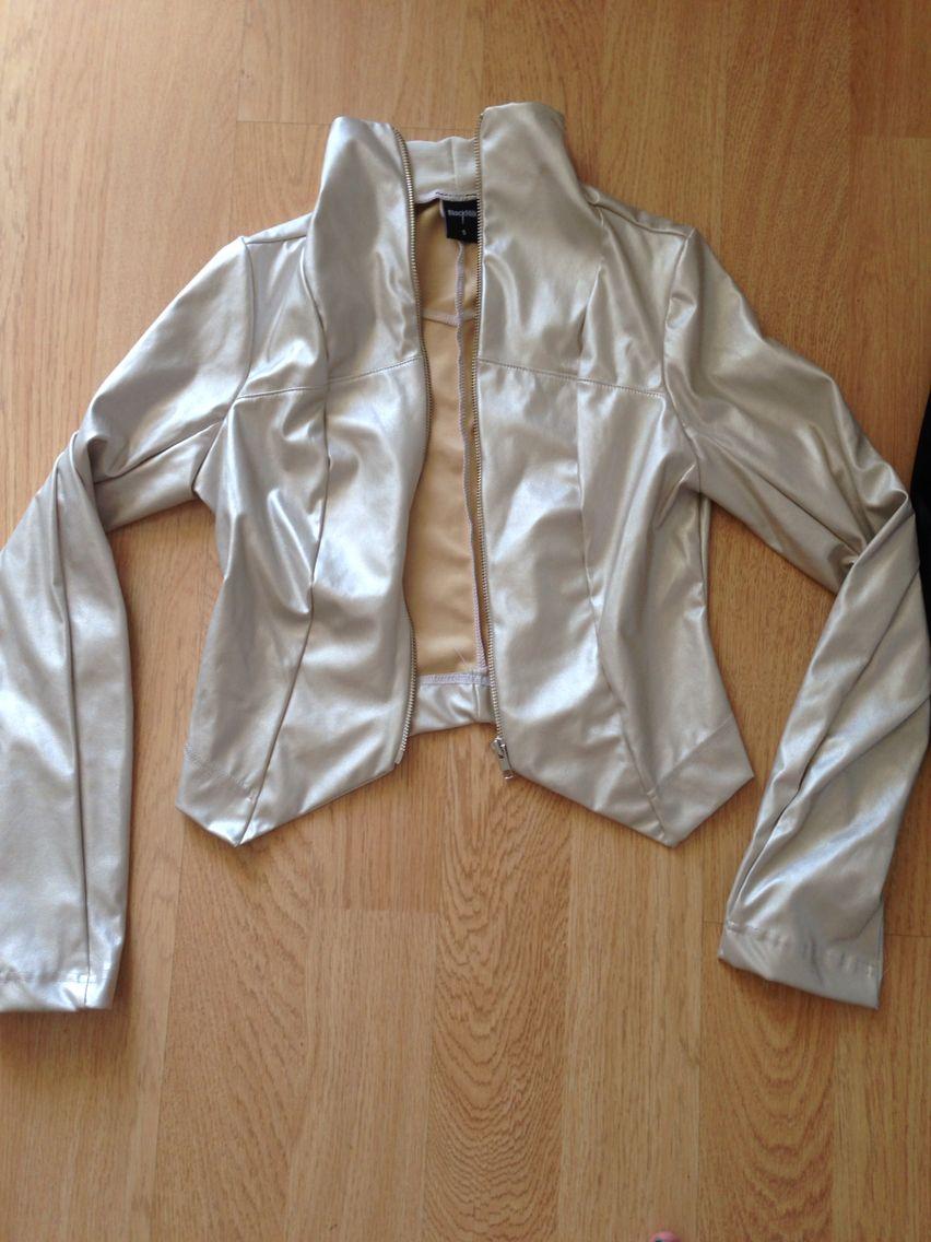 Leather jacket brisbane - Gold Pearl Jacket From The 2014 Brisbane Sample Sale
