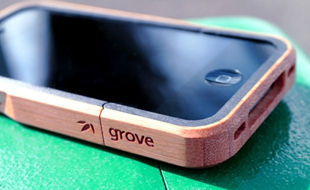 Grove Bamboo Cases for Apple Devices