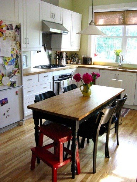 Find The Furniture The Ikea Bekvam Stool Eat In Kitchen Table Eclectic Kitchen Rustic Kitchen Tables