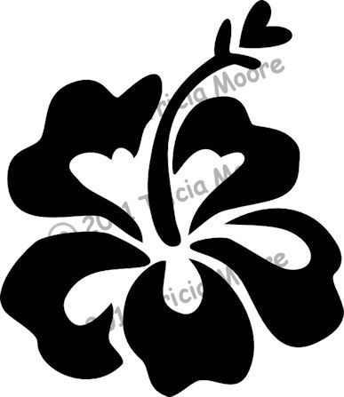 Hawaiian Flower | Hawaiian flowers | Pinterest | Plotten, Patchwork ...