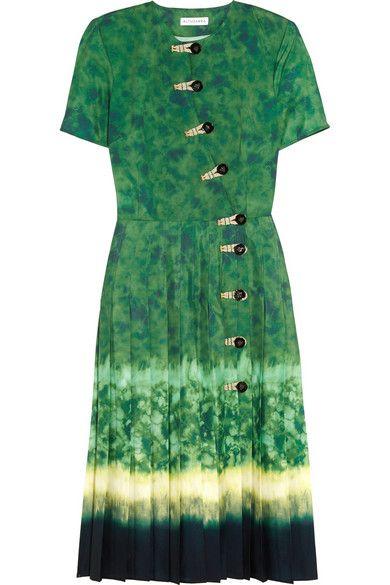 Altuzarra   Ilari tie-dyed crepe de chine dress   NET-A-PORTER.COM