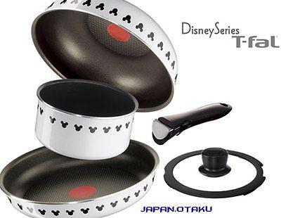 LIMITED T-fal Ingenio Disney White 6 set #disneykitchen