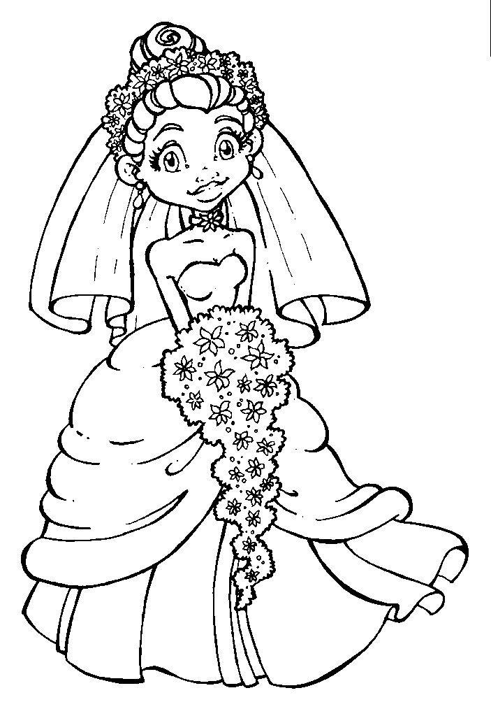 The Bride | dibujos flores | Pinterest