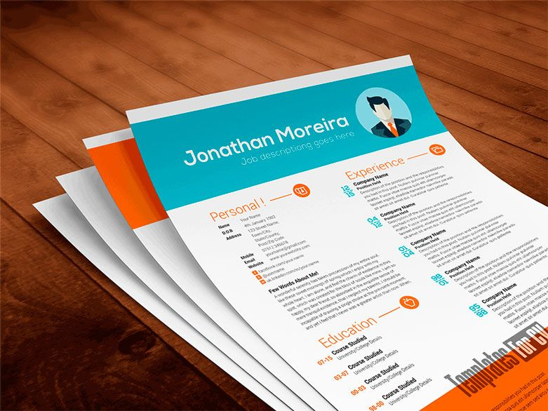 Pin by nimz on reporting design pinterest free cv template resume templates professional resume template resume design personal branding mockup photoshop job resume template good cv yelopaper Images