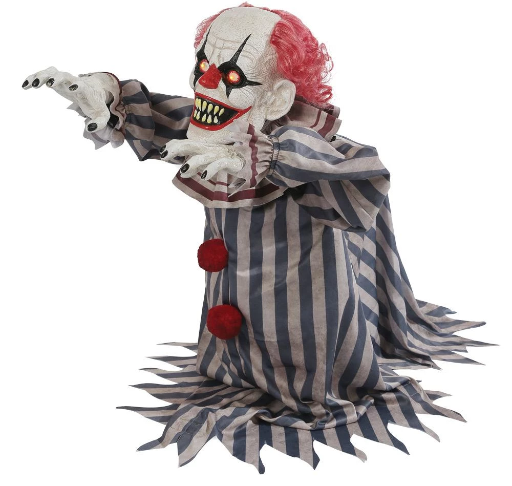Jumping Clown Electric Prop  The Horror Dome  Animated halloween