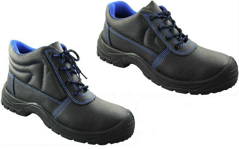 36-46 SNEAKER Sicherheitsschuhe Damen und Herren Arbeitsschuhe Schuhe Leder Gr
