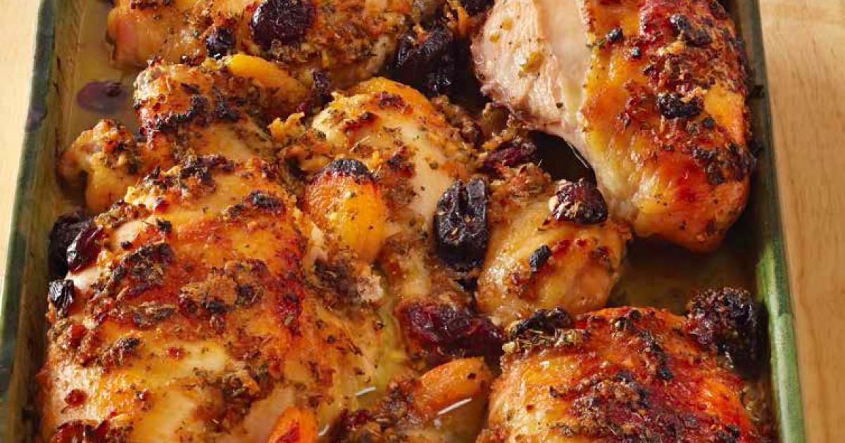 I have served this chicken on rosh hashanah for years and