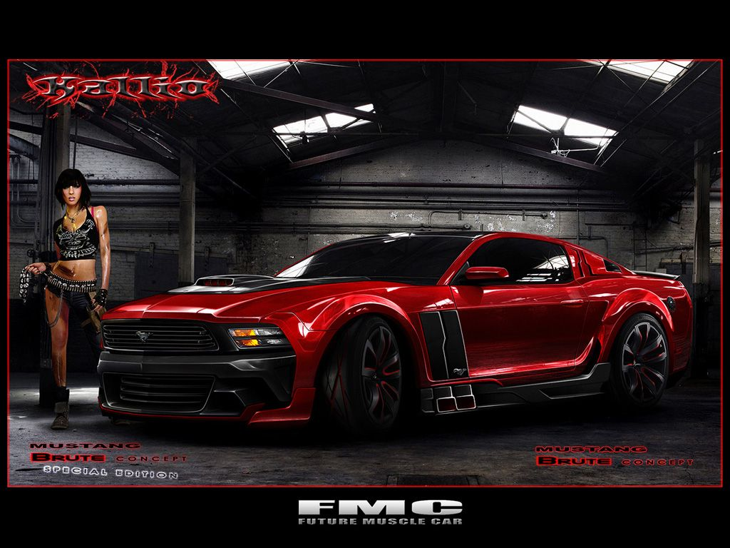 Muscle Cars Photoshop Rendering Thread Page The