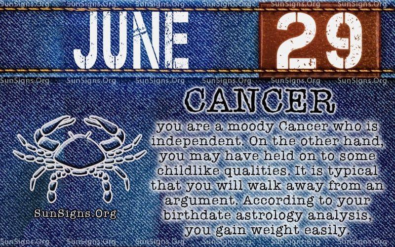 June 29 Zodiac Horoscope Birthday Personality Sunsigns Org Birthday Personality Zodiac June 29 Zodiac Sign