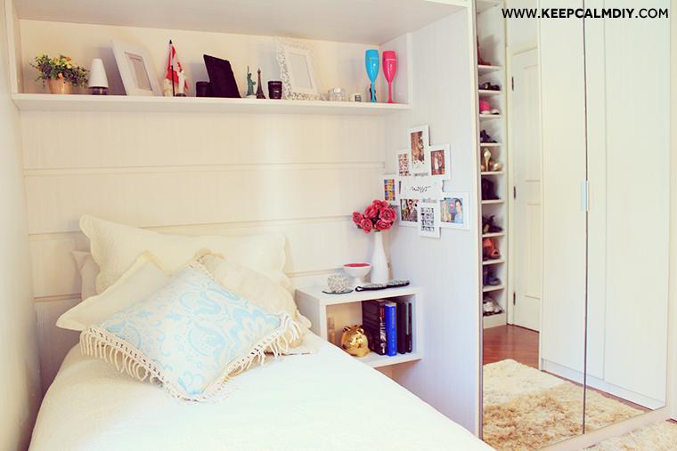 Decoração do meu quarto com penteadeira Quartos and Bedrooms ~ Quarto Pequeno Reforma
