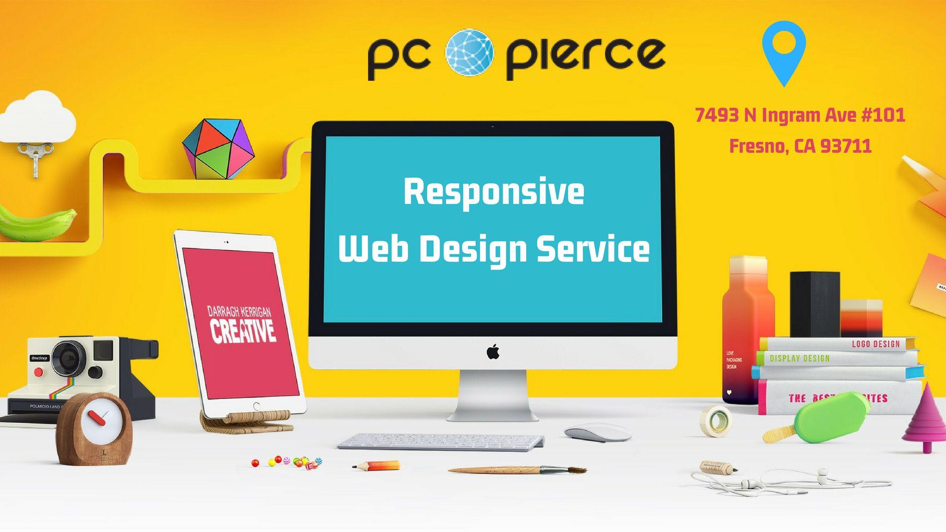 Web Design Company Fresno Custom Website Design Pcpierce Com Web Design Services Custom Website Web Design