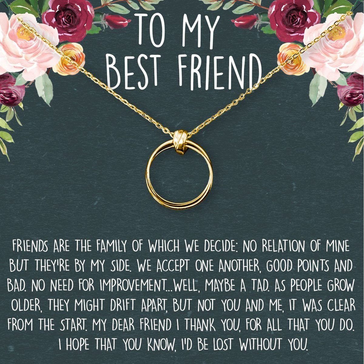 Best friends necklace dear ava jewelry necklaces