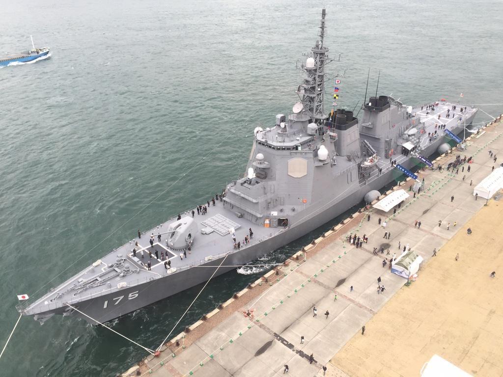 とま On Battleship Navy Ships Blue Water Navy