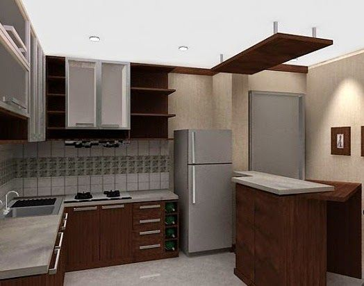 design interior kitchen set minimalis. Model Kitchen Set Minimalis Modern Terbaru  Desain Rumah