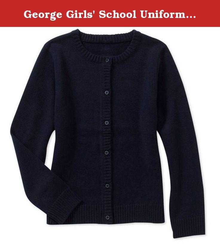 George Girls' School Uniform - Cardigan Sweater (X-Large (14/16 ...