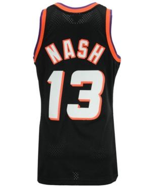 ae382e65dd3 Mitchell & Ness Men's Steve Nash Phoenix Suns Hardwood Classic Swingman  Jersey - White/Black XXL