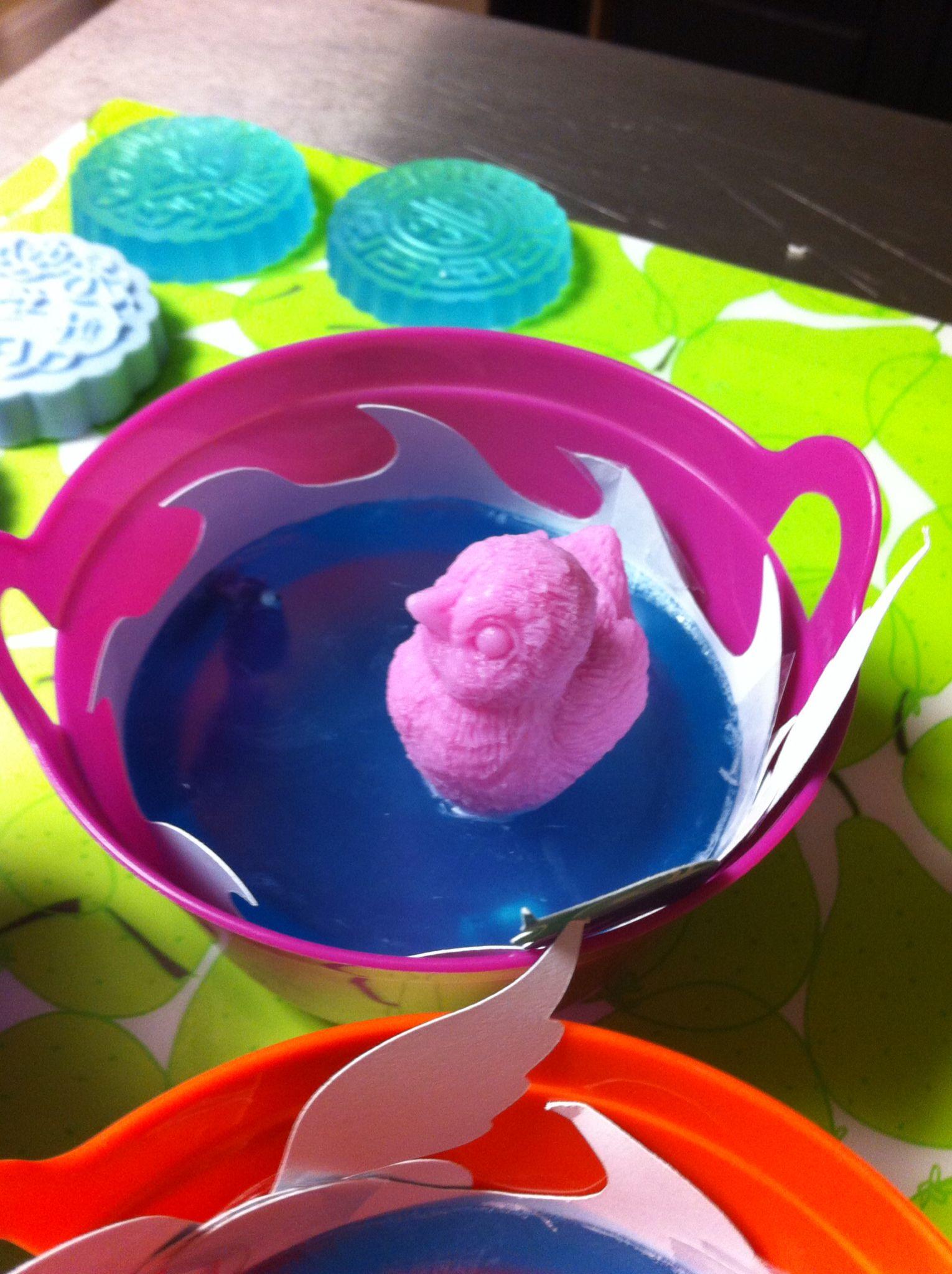 Duckling in a bucket lotion bars luxury soap bath tea