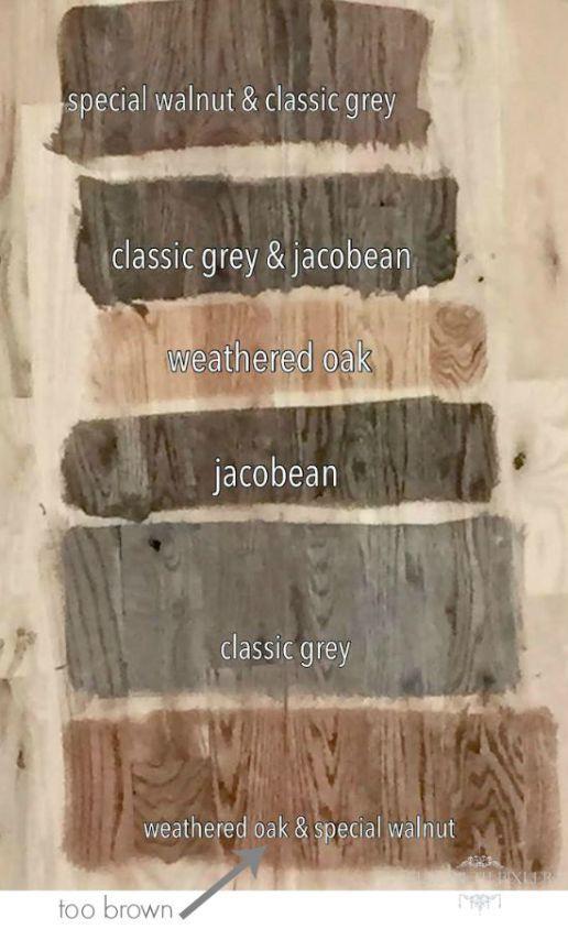 Minwax Stain For Red Oak Floors
