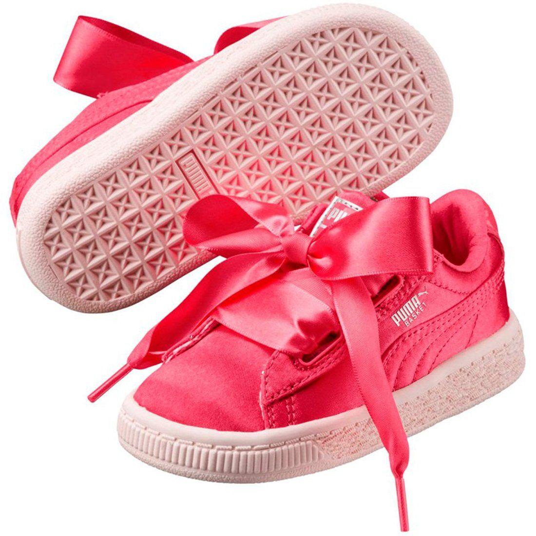 outlet store c6584 e1fcb PUMA Basket Heart Tween Kids | Paradise Pink / Paradise Pink ...