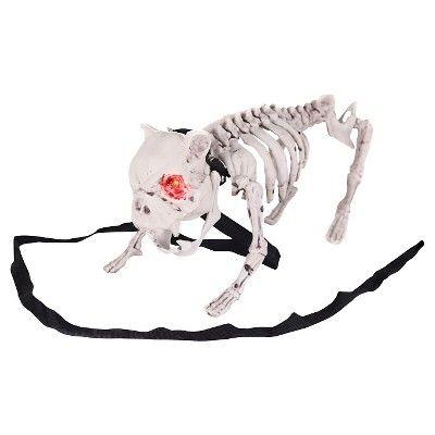 Halloween Barking Dog Skeleton, Ivory in 2018 Halloween