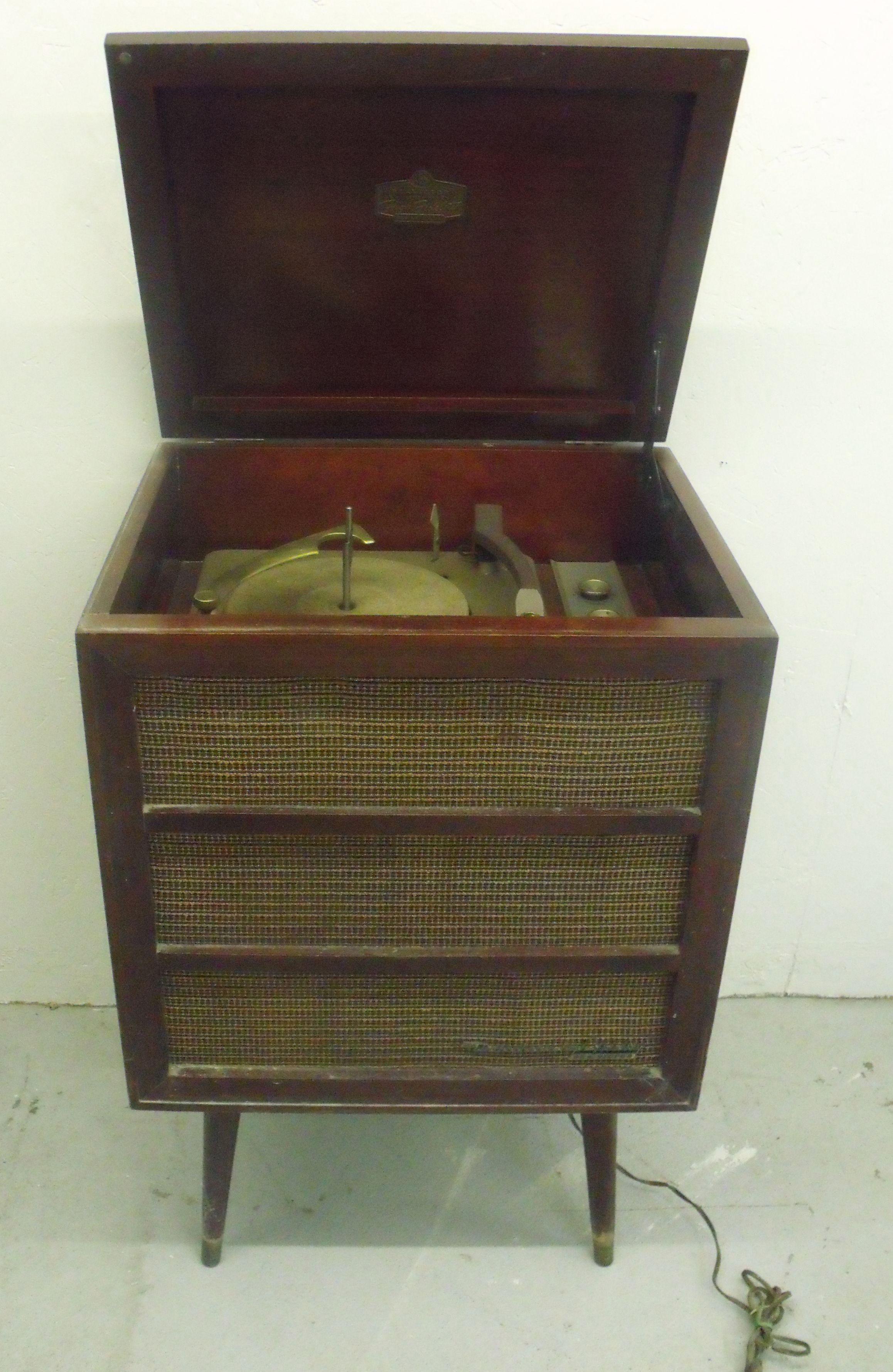Victrola RCA Victor 6 HF 4 Orthophonic Record Player