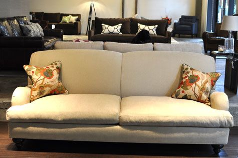 Relax In Our Traditional Kensington Sofa, Perch Furniture