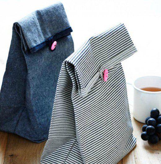 55 Craft Ideas Using Old Denim Jeans