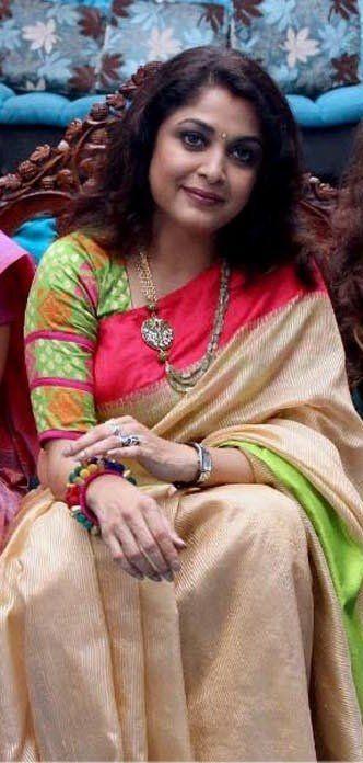 Ramya Krishnan | actress costume in 2019 | Saree blouse