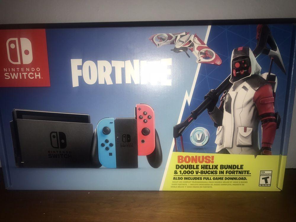Nintendo Switch Fortnite 32gb Console Fortnite Launch