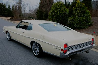 Pro Touring Ford Galaxie 1968 Ford Galaxie 500 Fastback 390 V8 Pro Touring Mustang Styling Ford Galaxie Ford Galaxie 500 Car Ford