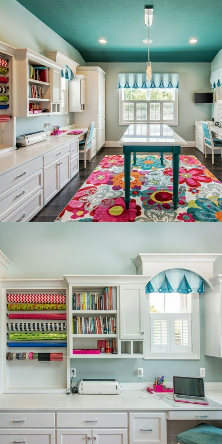 Delightful Craft Room Ideas (Small, Storage, and DIY craft room) Craft Room Ideas. If you enjoy developing tasks and also crafts as a hobby, or… - Delightful Craft Room Ideas (Small, Storage, And DIY Craft Room) #onabudget #small #organizing #big #design #cricut #ikea #diy #basement #sewing #blackandwhite #building #diy #home #decoration #bhfyp #travelgram #homedecoration #homedecor #decoration #bhfyp #interiordesign #lemari #style #fashion #Small Room Design Delightful Craft Room Ideas (Small,