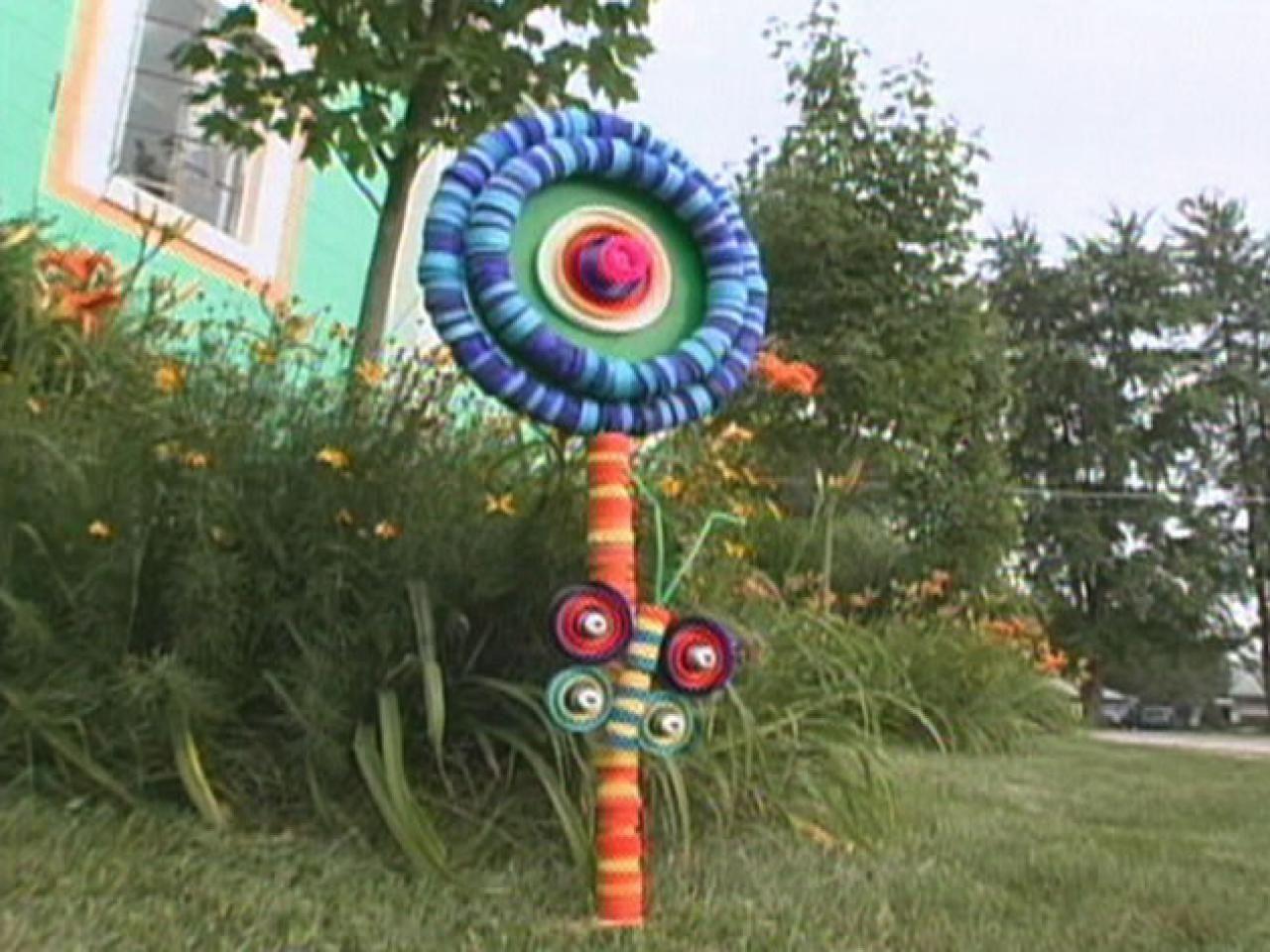 Nice How To Make A Lollipop Garden Sculpture