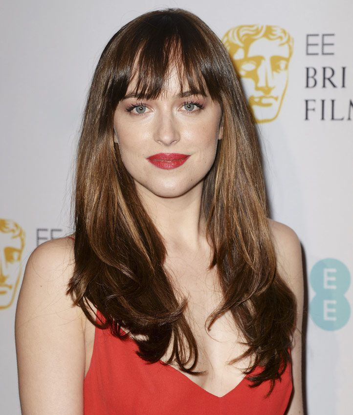 Cool Bangs For Long Hair: Dakota Johnson Hair, Hairstyles With