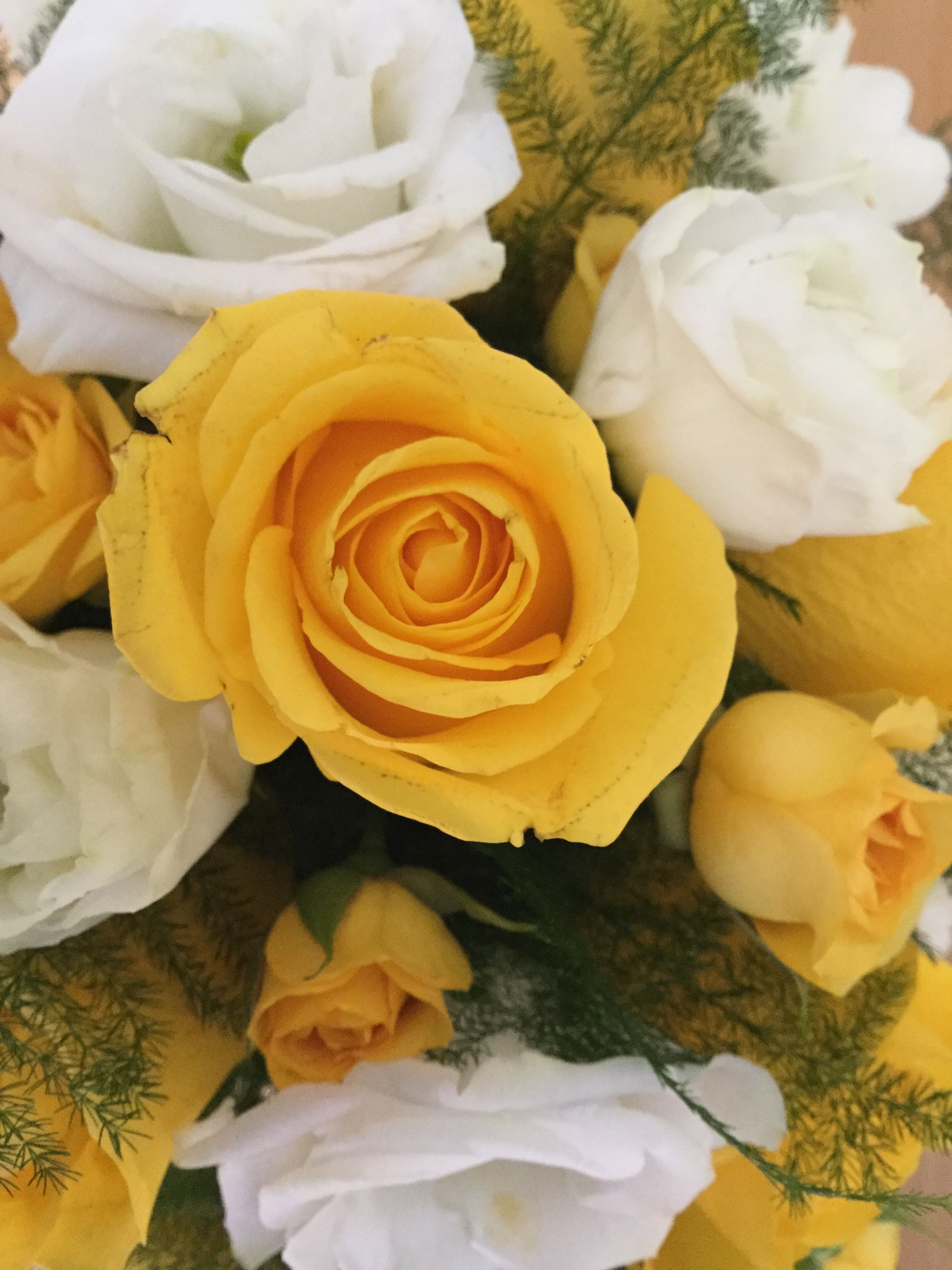 Yellowgold rose from my bouquet wedding flowers bouquet yellowgold rose from my bouquet izmirmasajfo