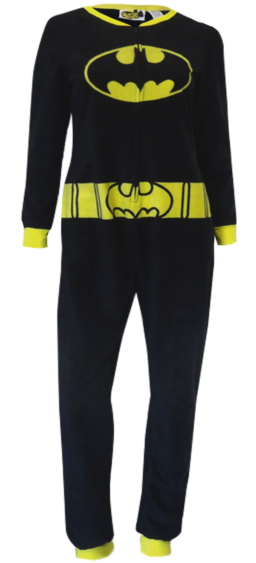 52d2b955f6 WebUndies.com DC Comics Batgirl Fleece Onesie Pajama