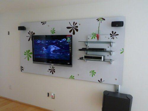 Como esconder los cables de la tele en la pared buscar for Ideas para cubrir paredes