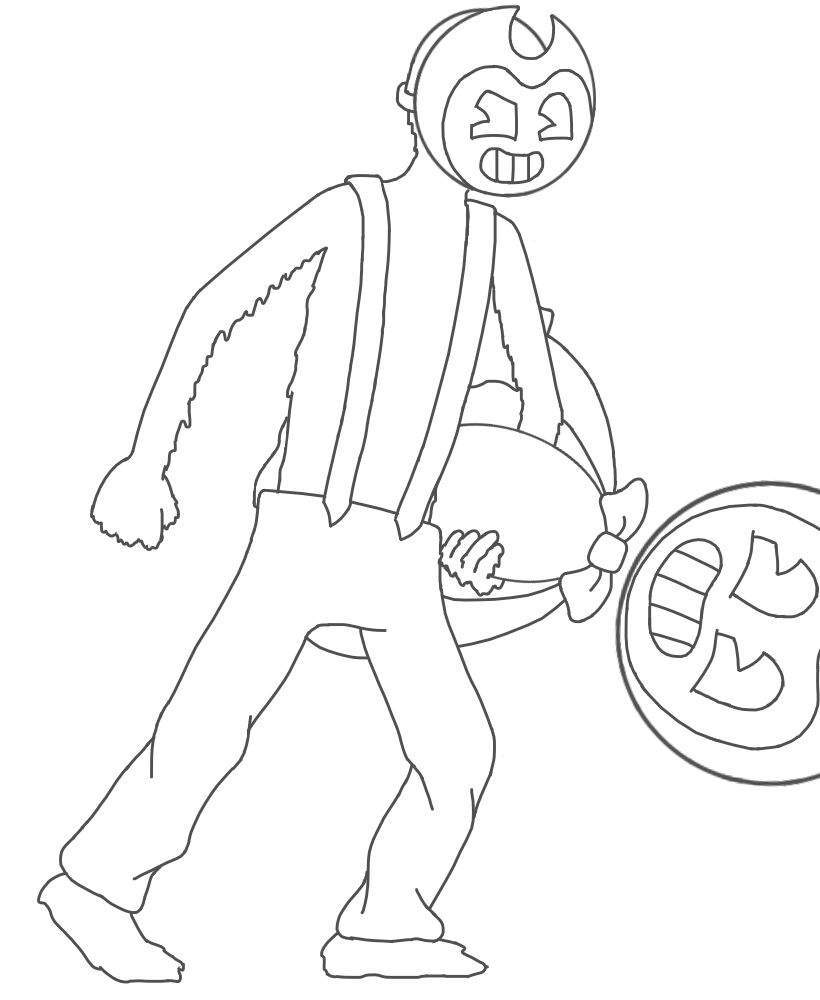 batim coloring pages bendy  google search  coloring