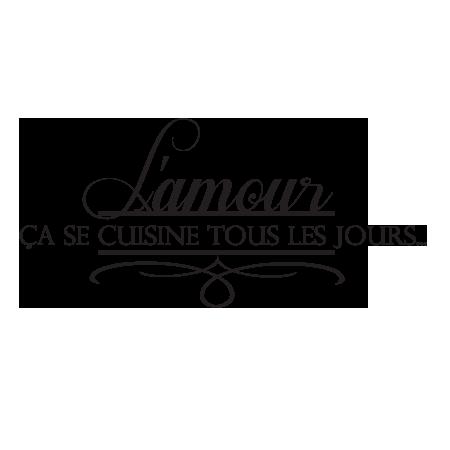 stickers amour en cuisine, cuisine, art de la table – stickers