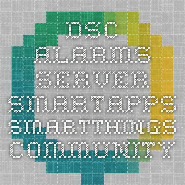 DSC Alarms Server - SmartApps - SmartThings Community