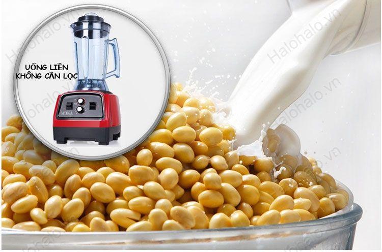 máy làm sữa đậu nành hẹn giờ shika 2800w