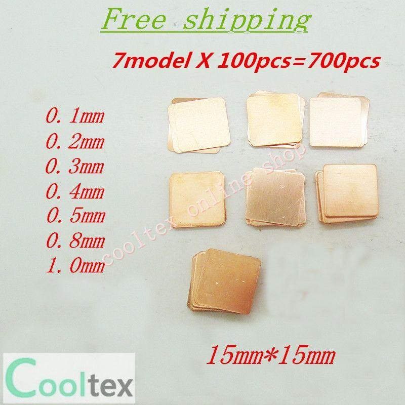 Visit To Buy 7modelsx100pcs 15mm X 15mm Diy Copper Heatsink Thermal Pad For Laptop Gpu Cpu Vga Chip Ram Copper Sheet Ad Copper Diy Heatsink Design Heatsink