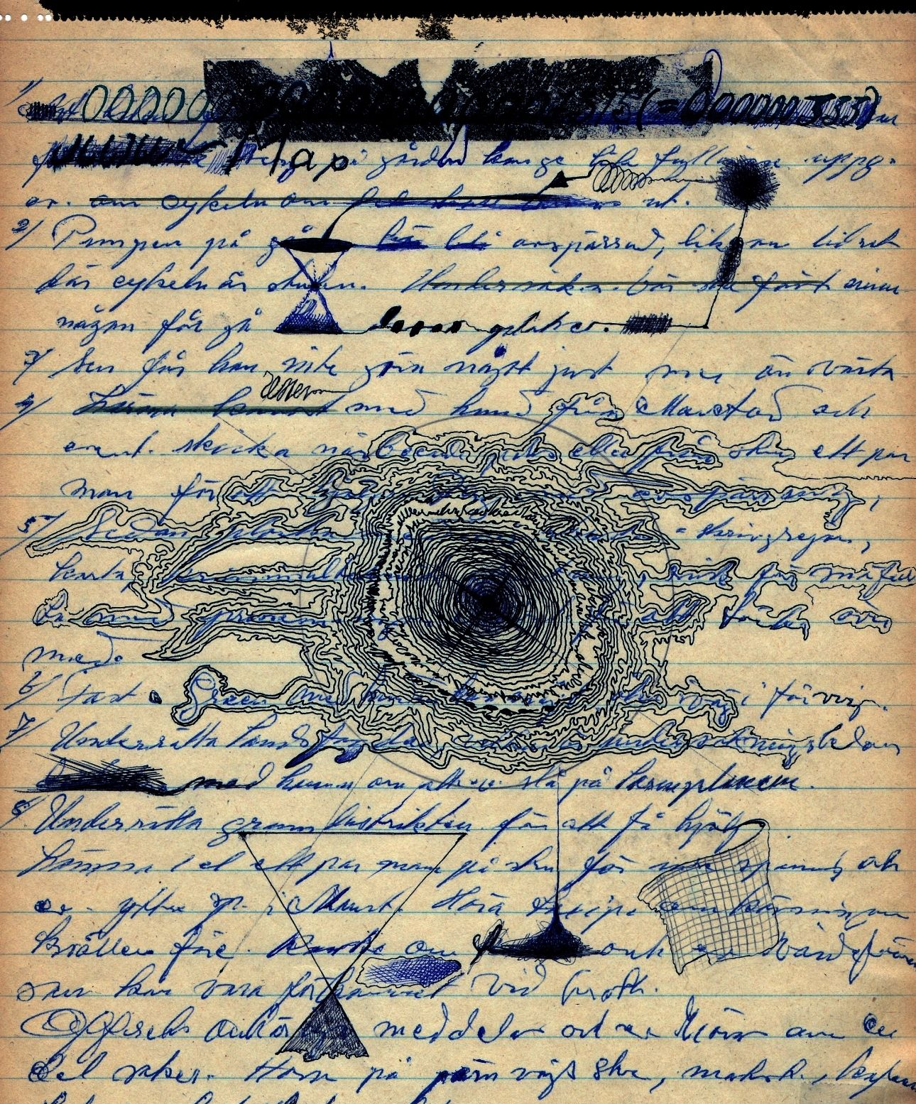 letter from another universe by fwstumpfi writing numbers louise bourgeois writings