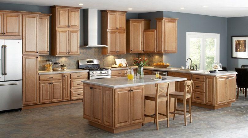 American Classics Cabinets Modern Oak Kitchen Small Kitchen Design Layout Kitchen Design Small
