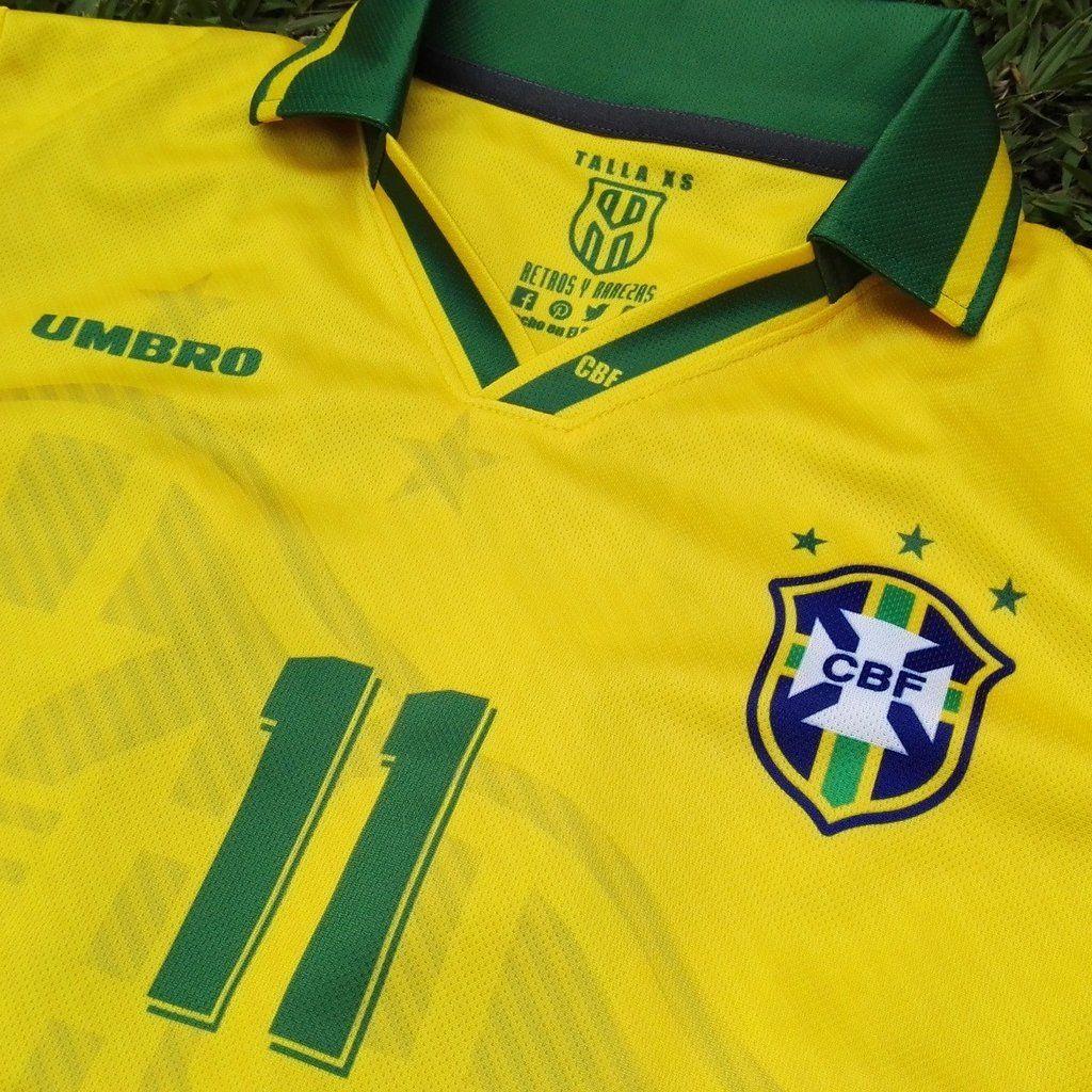 Brasil Men s Retro Soccer Jersey ed4faaa60