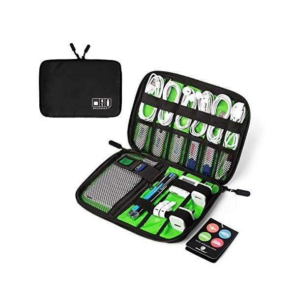 Bagsmart Travel Cable Organizer Portable Electronics