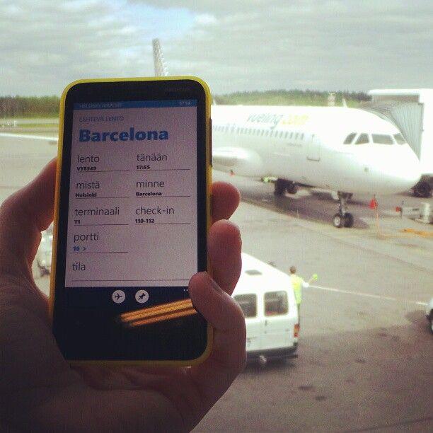 Reissuaplikaatiot ja Vuelingin Barcelonan lento testissä! #aurinkomatkaaja