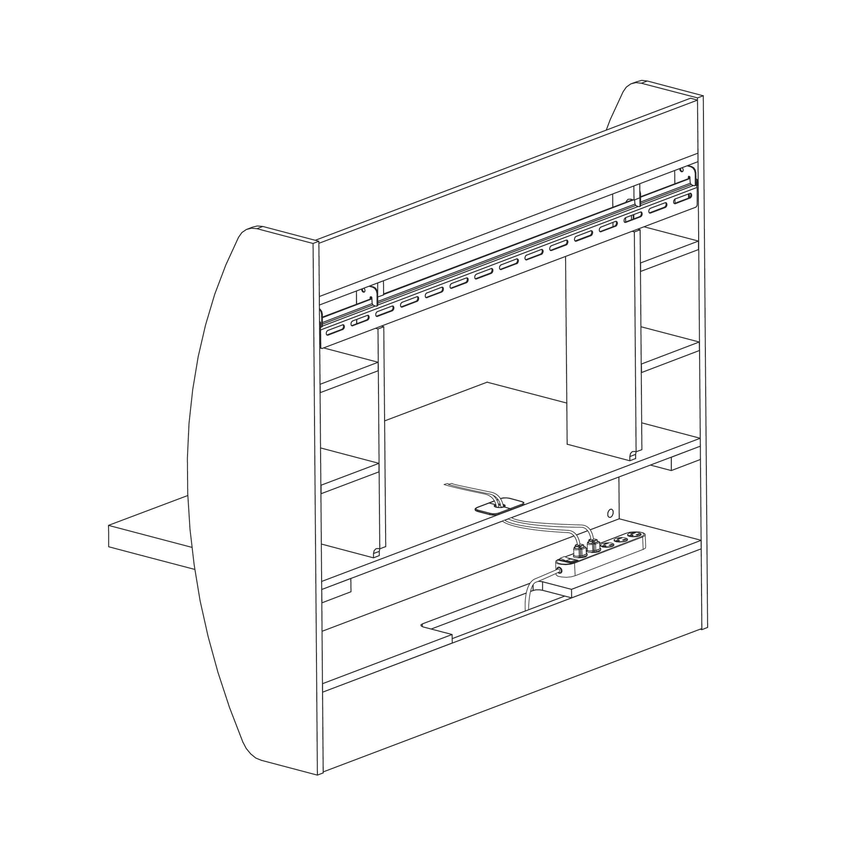 Behw 0200 1b Prepac Floating Desk With Storage Floating Desk Prepac Floating Desk Prepac