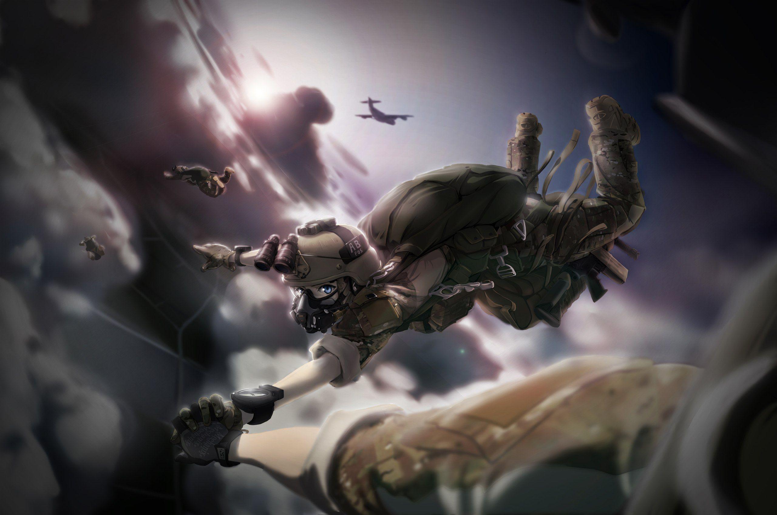 Anime NAVY SEAL US_army USarmy Devegru USMC Para