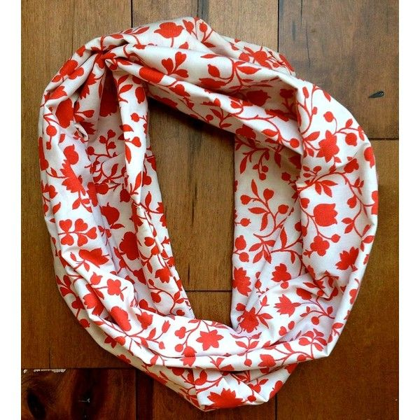 New York to Nashville Spring Floral Infinity Scarf ($40) ❤ liked on Polyvore featuring accessories, scarves, lightweight scarves, long scarves, cotton scarves, floral infinity scarf and infinity loop scarves